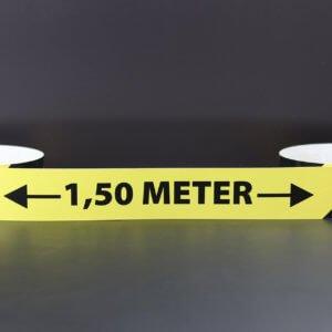 Zitstadiscounter.nl Anderhalve meter maatsticker